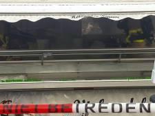 Vlam in de pan bij viskraam op de weekmarkt in Doetinchem