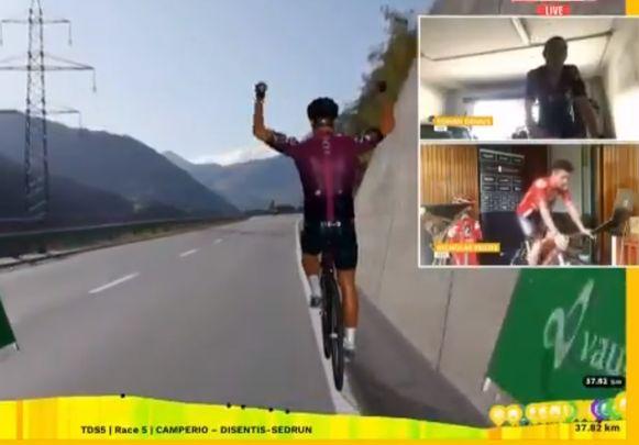 Rohan Dennis won opnieuw.
