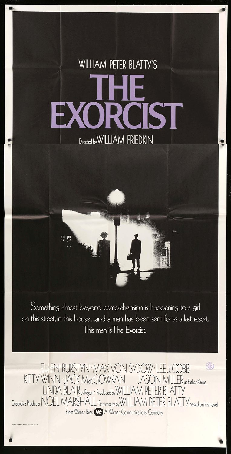 Filmposter van The Excorcist Beeld
