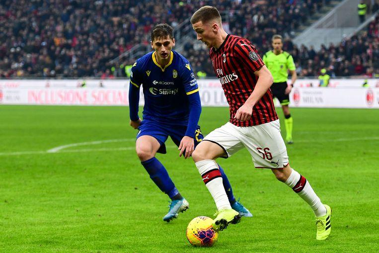 Saelemaekers debuteerde vorig weekend al tegen Verona.