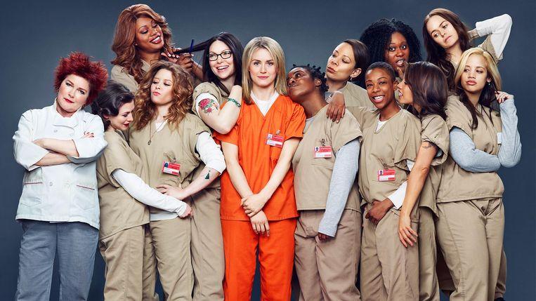 De cast van 'Orange Is The New Black'.