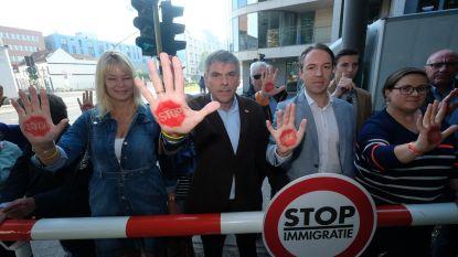 Vlaams Belang voert actie voor migratiestop