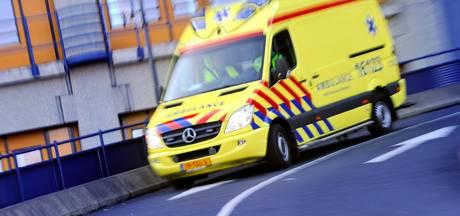 Man ernstig gewond bij ongeval op de N201