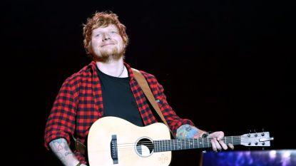 Ed Sheeran komt in 2018 opnieuw naar België