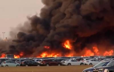 Ruim 3500 huurauto's vernietigd door vuurzee bij luchthaven Florida