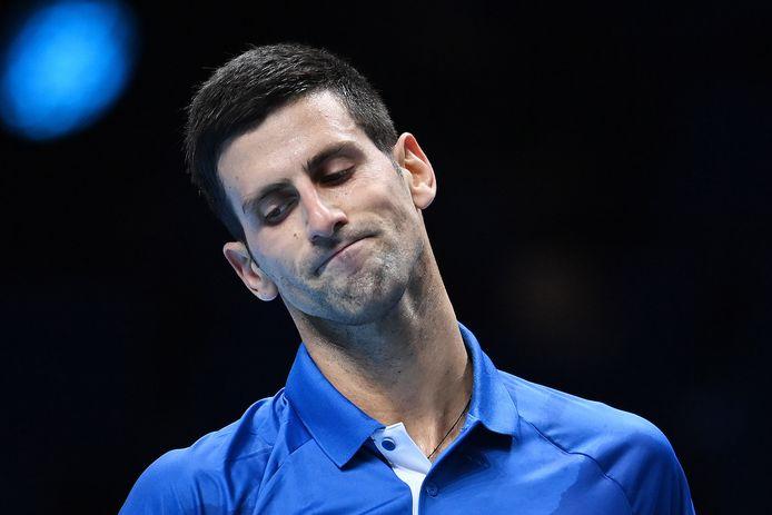 Expédié par Daniil Medvedev mercredi soir, Novak Djokovic  ne pourra pas se louper, vendredi, dans son dernier match de poule.