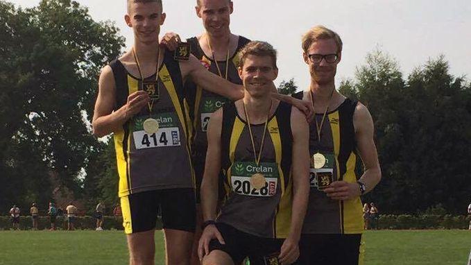 Broers Demeyere provinciaal kampioen op 4x800 meter
