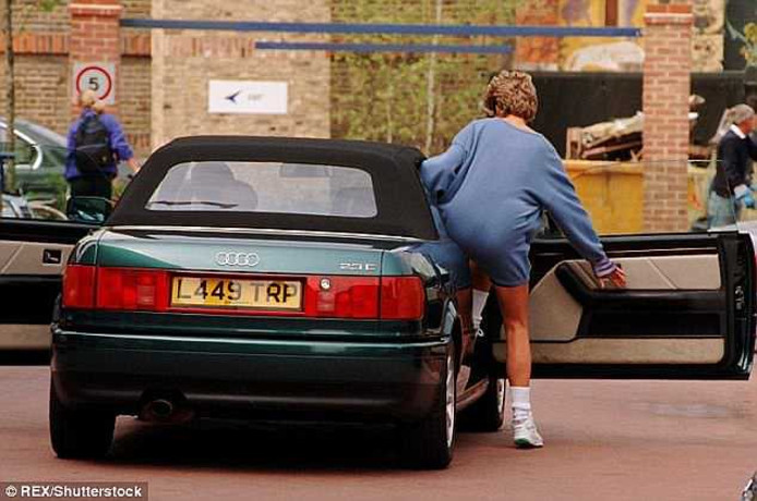 De Audi 80 van prinses Diana