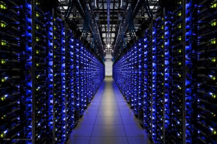 Google data center in de Verenigde Staten