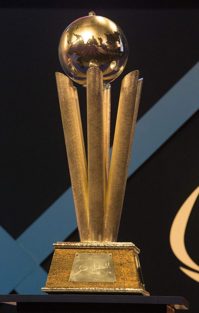 Hier gaat het allemaal om tijdens het WK darts: de Sid Waddell-trofee.