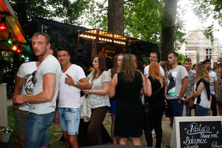 Dit jaar gaat het HAP Foodtruck Festival door op het Vianderdomein