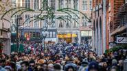 Eerste shoppingweekend: parkings vol en over de koppen lopen