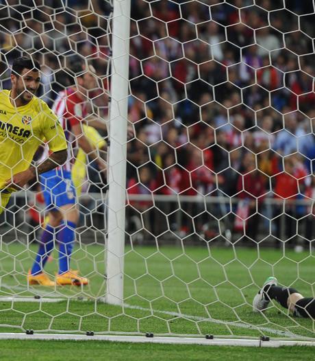Dure nederlaag voor Atlético