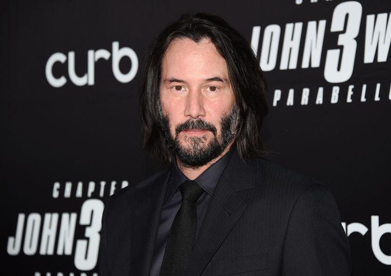 Keanu Reeves op de première van 'John Wick 3: Parabellum'