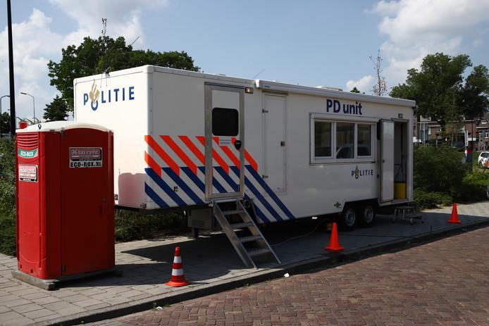 De PD-unit in Tiel.