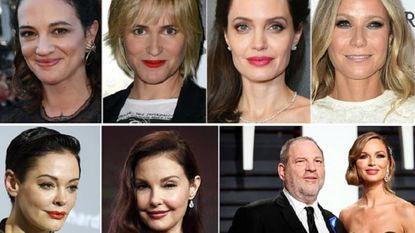 Bij deze 24 Hollywoodvrouwen probeerde Weinstein zijn seksuele lusten bot te vieren