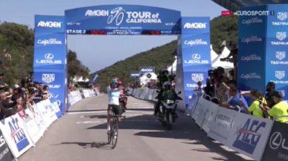 Bernal klautert naar zege én leiderstrui in lastige etappe Ronde van Californië
