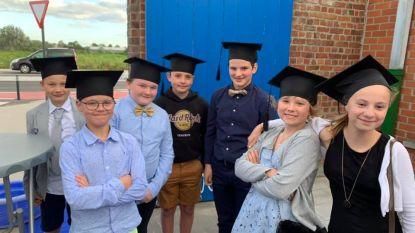 Kinderen De Wegwijzer sluiten schooljaar af met Tour des Diplomes