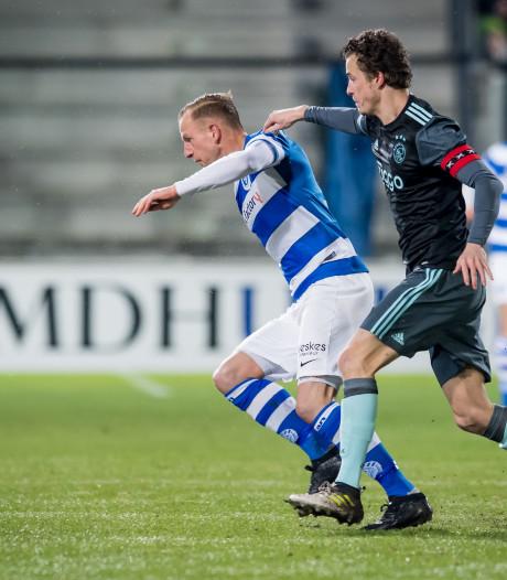 De Graafschap lijdt pijnlijk verlies tegen Jong Ajax