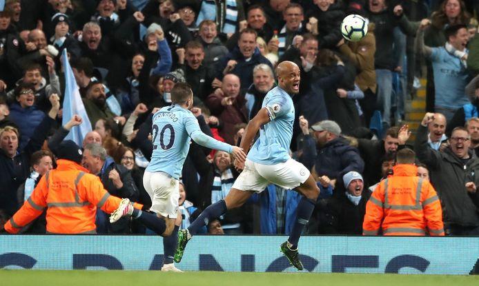 Le 'but du titre' inscrit par Vincent Kompany contre Leicester l'an dernier fait partie intégrante de la légende de la Premier League.