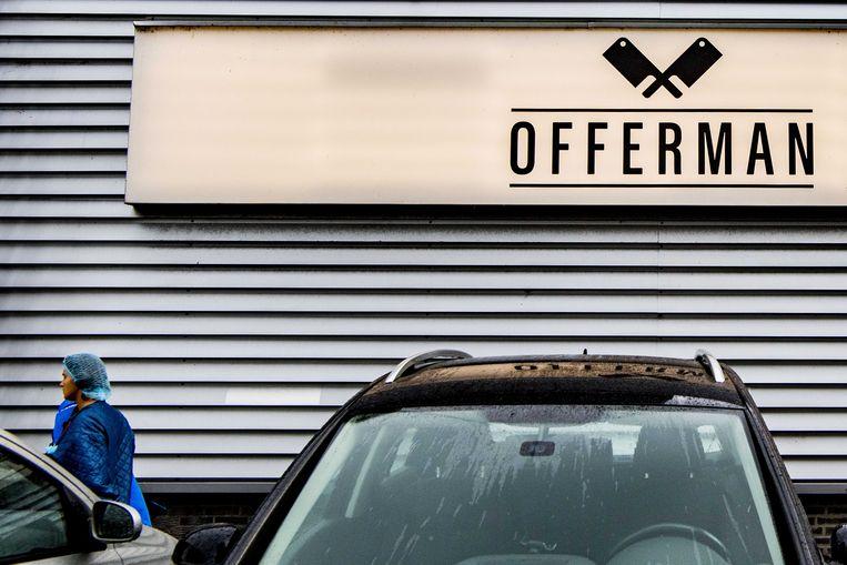 Een fabriek van Offerman.