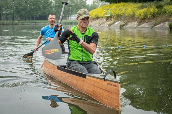 Francis Soenen en Danny Veys zullen 552 kilometer afleggen met Hootalinqua.