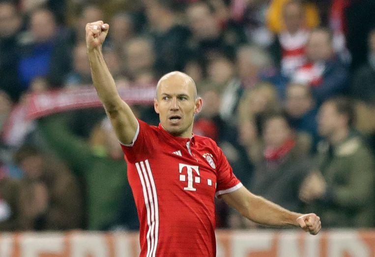 Arjen Robben brak in z'n gekende stijl de ban met een heerlijke goal