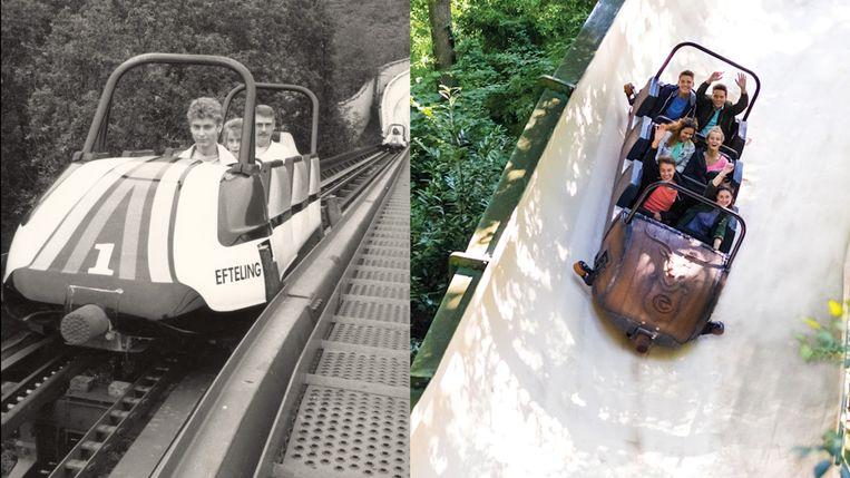 Bobsleebaan 'Bob' verdwijnt na 34 jaar uit de Efteling. De rollercoaster maakt plaats voor een nieuwe attractie.