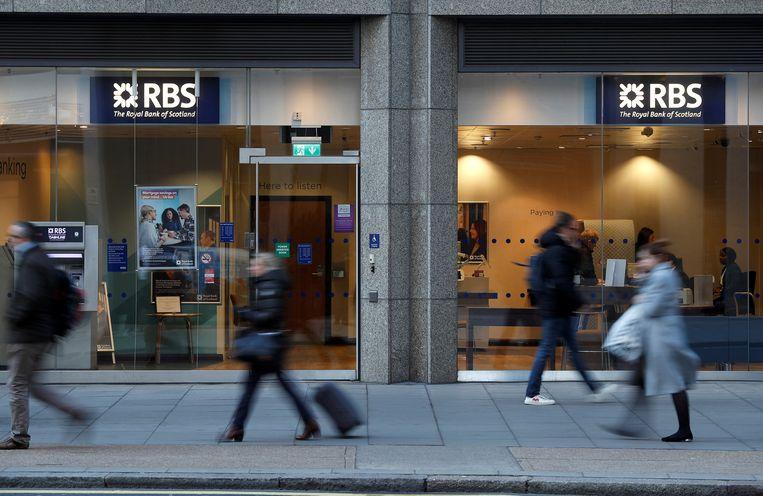 Vestiging van Royal Bank of Scotland in Londen. Beeld REUTERS