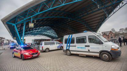 Persoon aangereden door trein in station van Halle