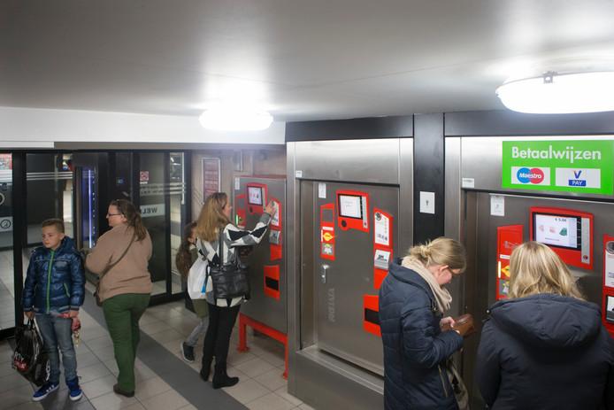 Q-Park heeft twee parkeergarages in Veenendaal, waaronder deze onder winkelpassage Corridor.