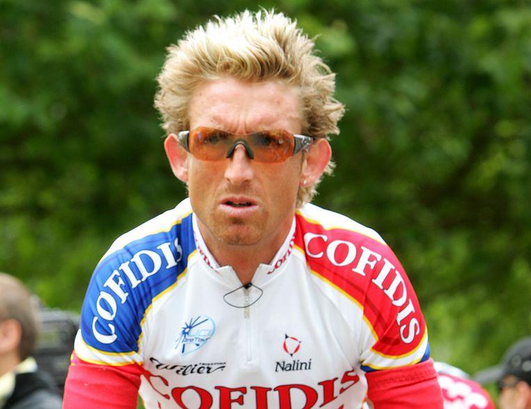 Matt White was een oud-teamgenoot van Lance Armstrong. Floyd Landis getuigde dat White epo en testosteron had gebruikt. Beeld getty