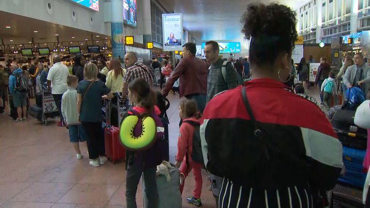 De grote uittocht op Brussels Airport
