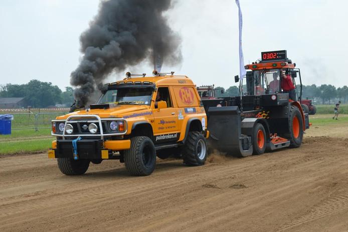 Truck- en Tractorpulling in Oss.