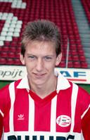 Juul Ellerman als speler van PSV in 1991.