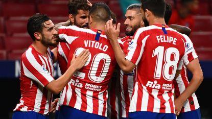 Carrasco ziet vrije trap ingekopt door Diego Costa in nipte zege met z'n tienen tegen Betis