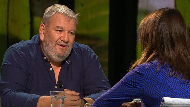 Wim Opbrouck als Zomergast. Beeld YouTube / VPRO