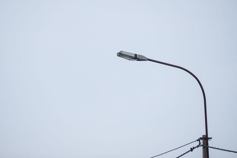 In de Meerstraat is  er openbare verlichting defect (Foto is niet van Meerstraat)