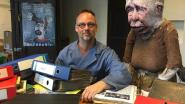 Muzikant Wim Claeys lekt per ongeluk feestenaffiche Trefpunt