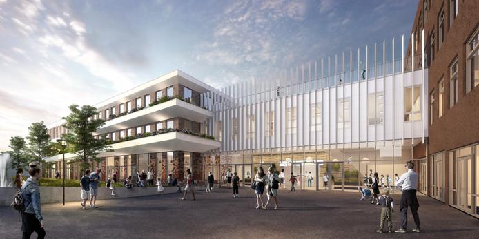 Het Driestar College door ontwikkelaar Re-Born
