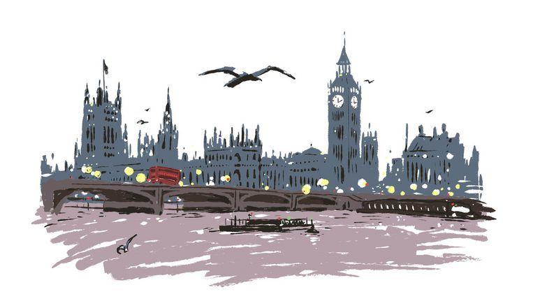 Londen Beeld Luis Mendo