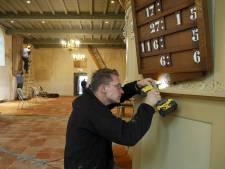 Kerk in Valburg coronaproof herinrichten na grote schoonmaak