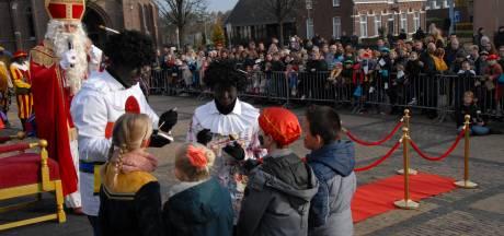 In Haaren is zelfs het paard van Sinterklaas zwart
