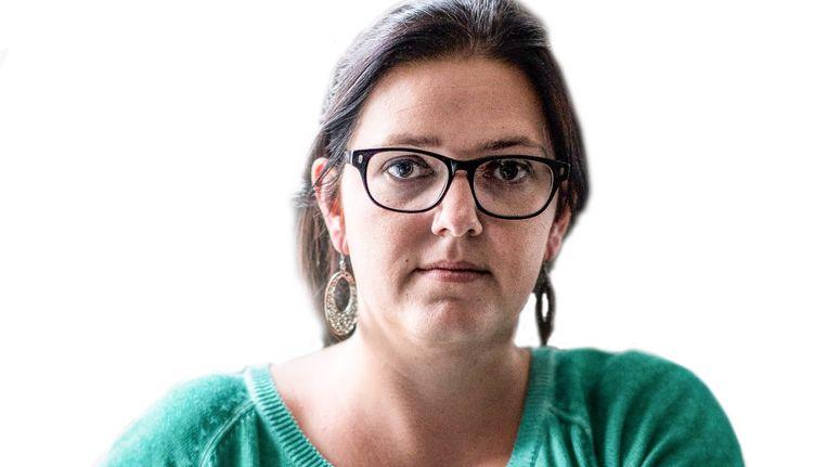 Janke Verhagen, de weduwe van Stefan Regalo Eggermont: 'Ik mag toch hopen dat iemand in dat wereldje ongenadig op zijn flikker heeft gehad.' Beeld Rink Hof
