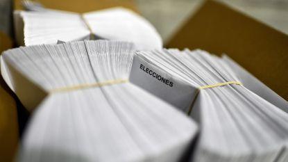 Verkiezingsmoeheid speelt Spanjaarden parten: opkomst valt tegen