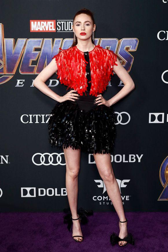 Karen Gillan kennen we als Nebula, die in 'Endgame' voor het eerst aan de zijde van de Avengers vecht.