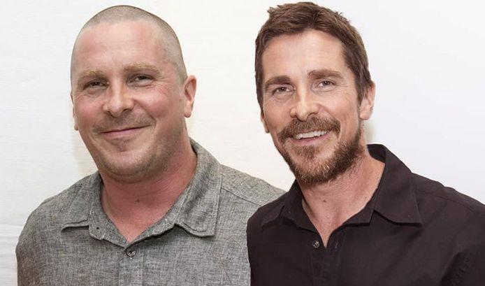 Links zie je Christian Bale vorig jaar, rechts zie je hem hoe hij er nu uitziet.