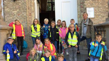 Leerlingen De Klijte bezoeken gemeentehuis