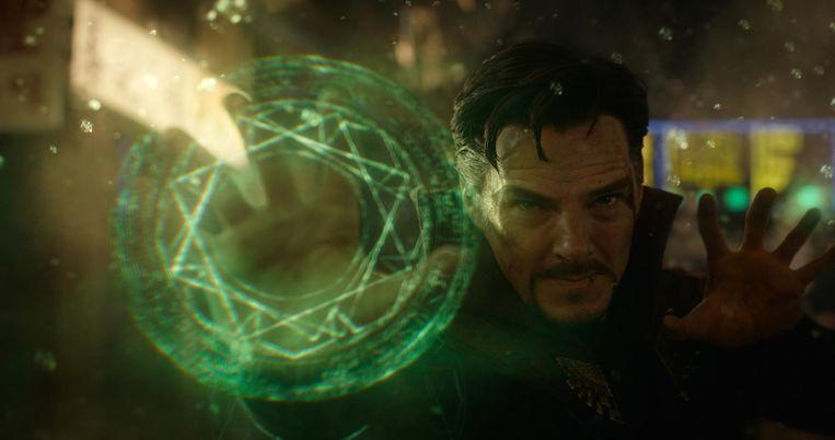 Benedict Cumberbatch als Doctor Strange Beeld -