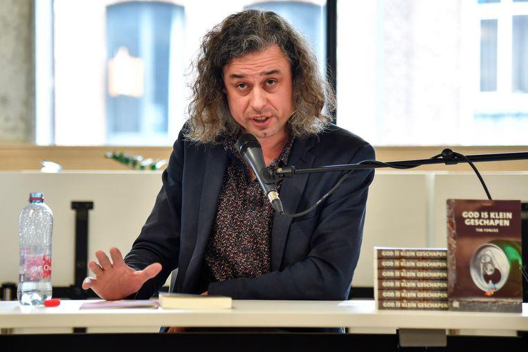 Tim Foncke vertelde over zijn werk.